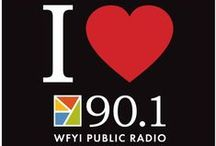 Public Radio / WFYI is on air: 90.1 FM, 90.1 HD1 and 90.1 HD2. Find public radio programs and stories on this board. / by wfyi