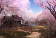 Qingdai Inspirations / Inspiration for my Asian fantasy world, Qingdai.  / by Penny Kearney