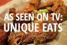 Unique Eats / Restaurants featured on the Cooking Channel's show, Unique Eats. Includes major U.S. cities and Montreal.  / by Urbanspoon
