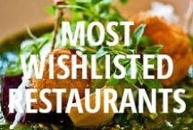 Most Wishlisted Restaurants 2013 / These are the most Wishlisted restaurants in the U.S., Canada, Australia, and the UK on Urbanspoon. / by Urbanspoon