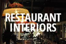 Best Restaurant Interiors / The most beautiful restaurant interiors on Urbanspoon. / by Urbanspoon
