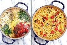 Pasta.. My Weakness ♥ / Pasta dishes sure to delight the tastebuds / by Annette Gibson