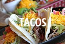 Urbanspoon Tacos / Tacos are one of our favorite Mexican dishes, and with all of their variety, everyone can find something to eat.  / by Urbanspoon