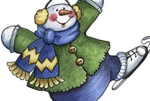 Snowmen.... / by Joy SweetSanders