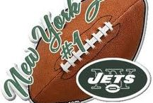 NY JETS Football  / To live, eat, breath and bleed GREEN!!! J-E-T-S, Jets, Jets, Jets / by Alecia McInerney