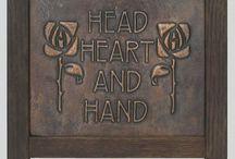 Decorative Arts, Arts and Crafts Movement, Prairie Style. / by Heidi Abrahamson