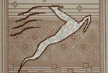 My Needlepoint and Bargello Patterns / Original Charted Needlepoint & Bargello designs. Available at www.lizartneedlepoint.com / by Liz Morrow