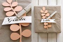 pretty packaging. / by Candice Dokkebakken