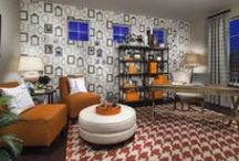 Dream in Color: Orange Decor / Orange you glad we've collected some of our most fabulous rooms in this bright and fun color? From living spaces to bedrooms, we think you'll find a Lennar room that inspires you to dream in color when it comes to your home. / by Lennar