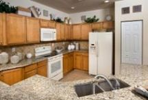Kitchens - White Appliances / Does your dream kitchen include white appliances? Browse through our Lennar kitchens from across the nation and let us know what you think! With a variety of styles and layouts we are sure you will find one you'll love! / by Lennar
