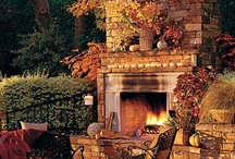 Outdoor Fireplaces / by Ronda Williams