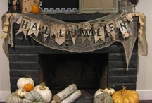 Halloween  / I love decorating my home for the holidays....all the holiday's, and my grandchildren love it. / by Fabulous by Frankie-Holiday Burlap Runners