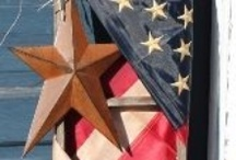 4th of July / Lots of beautiful creative Patriotic Crafts ! / by Fabulous by Frankie-Holiday Burlap Runners