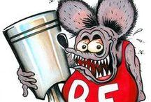 rat fink art / by Glenn Roberts