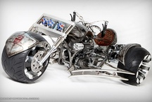 Motor Cycles and Bikes / by Russell Craig