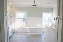 Bathrooms / by Cortney Jenkins { Faith. Home. Love.}