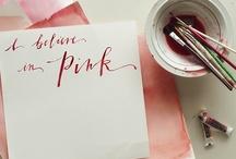pink, just pink / by Maru Geminiani