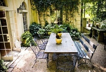 porch | patio | firepit / favorite ideas for indoor-outdoor space / by Laura Tanner Swinand