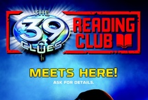 The 39 Clues Reading Club / Start an official THE 39 CLUES READING CLUB and receive monthly theme ideas and activities to excite your readers!                / by Scholastic