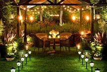 backyard patios / by Mae Zaragoza