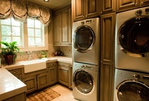 Laundry = Loads of Fun / Redecorating Ideas for the laundry room! / by Denise Mallory