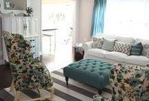 Home : Living Room / Living Room Inspiration / by Kristen Stephens