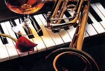 Beautiful Brass and Other Horns / I love the Sweet Sounds, Shimmering Metal, and Rich Reverberations of Beautiful Brass Instruments. / by Dr. Linda Welker