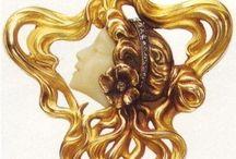 ART DECO/NOUVEAU / #Art_Deco #Art_Nouveau / by Dr. Linda Welker