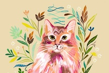 All about cats / by Selma Andrade