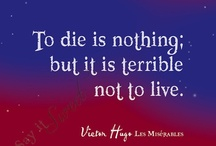 """What I learned from """"Les Miserables""""  / A must READ by Victor Hugo and a MUST SEE for every musical lover. I couldn't wait. I had to go to the movie theater for the last showing on Christmas Day...what a wonderful way to remember Christmas 2012!!! / by ~Singing A New Song~"""