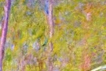 Art of Claude Monet / Claude Monet was a founder of French impressionist painting, and the most consistent and prolific practitioner of the movement's philosophy of expressing one's perceptions before nature, especially as applied to plein-air landscape painting. / by ~Singing A New Song~