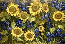Art of Vincent Van Gogh / Van Gogh. Sunflowers. I don't think of one without the other hence the need for his own board. Enjoy! / by ~Singing A New Song~