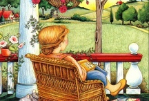 Art of Mary Englebreit / One of my favorite illustrators/artists for fun and loving ideas and inspirational thoughts.  / by ~Singing A New Song~