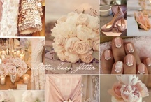 """Favorite Combos: Rose Gold and Peach / Gold and peach makes a beautiful """"rose gold"""" for me. I love this color combo and needed a board to pin these wonderful pins! / by ~Singing A New Song~"""