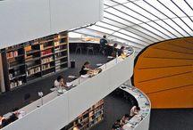 Bibliothèques et Musèes / #Library #biblioteques  #bibliotecas  / by Dr. Linda Welker