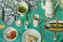 ART : Still Life - FLOWERS & FOOD / by Shelly Zeiden