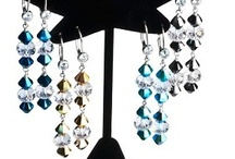 Dazzle Collection / A special collection designed in house by our owner Karen Woodson. They are made with various materials including Swarovski Crystals, .925 Sterling Silver, Beadalon Wire, Gold Filled beads, and many more. / by TooCuteBeads .com