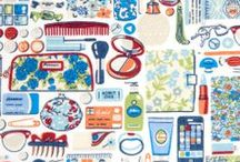 Fabric Love / Fabrics for future sewing projects ... / by Amanda Barber