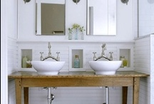 A Bevy of Bathrooms / by Laurie dill-Kocher
