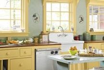 Kitchen & living room / by Amy Ditto