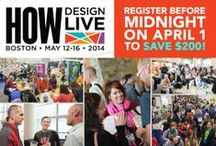 HOW Design Conferences & Events / by HOW Design