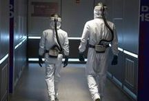 Helix: Season 1 / Syfy and Executive Producer Ronald D. Moore (Battlestar Galactica) present #Helix premiering Jan. 10 at 10|9c.  Don't miss this intense thriller about a team of scientists from the Centers for Disease Control who travel to a high-tech research facility in the Arctic to investigate a possible disease outbreak.  / by Syfy