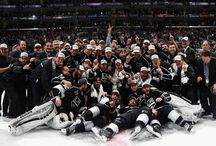 La kings hockey / by Yvonne Pokeyvon Waschak
