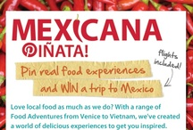 Mexicana Piñata / Congratulations to Anna M from New Zealand who pinned real food experiences and won a trip to Mexico in February 2013! Her alphabet food board was original, inspiring and most of all showed off the amazing experiences found on Intrepid's new Food Adventures - check it out below! / by Intrepid Travel