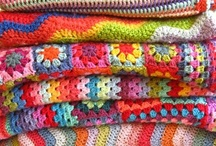 crochet me a river / Bright, Colorfully Manipulated Yarn Love❤️ / by Gayla Whitfield
