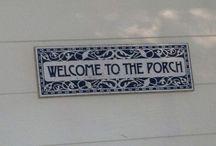 (Me &) Nicka's Porch / by Wisdom-Sherill Jones