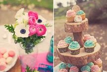 pink & gold wedding shower / by Amy Cluck-McAlister