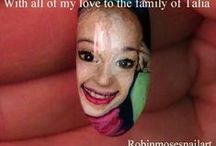 THE BEST off of the desk of the NAIL ART WIZARD / Nail Art Portraits and other Advanced Nail Art tutorials! / by Robin Moses