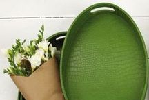Go Green / Our favorites in green, as well as eco-friendly alternatives.  / by Scarlett Alley Gifts