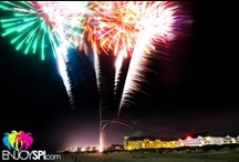 Fireworks on South Padre Island / Fireworks every Friday and Saturday all Summer Long on South Padre Island! Visit www.EnjoySPI.com for more information! / by South Padre Island